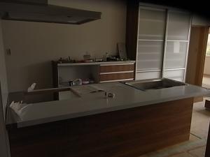 キッチン完成(仮)