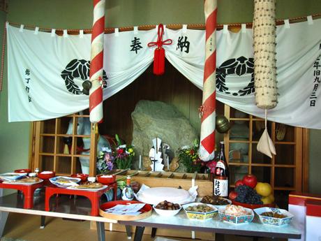 錦神社祭典3