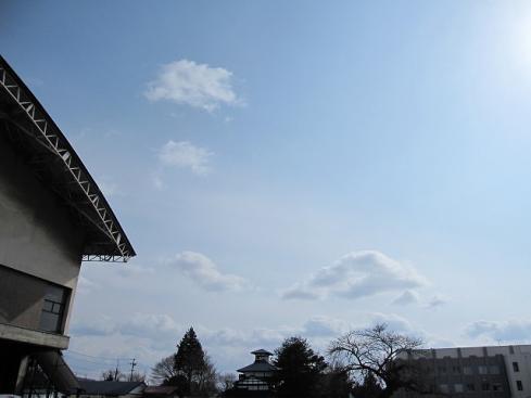 3月7日(月)の天気