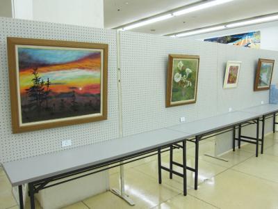 アートパーゴラ絵画展