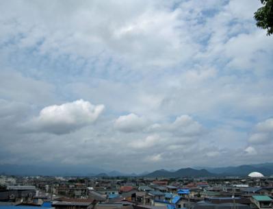 7月9日(土)の天気