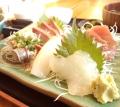 刺身5種盛定食。