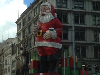 巨大サンタさん&トナカイ