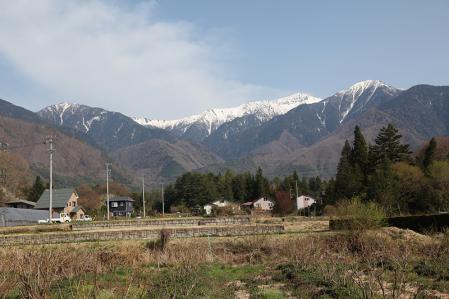 木曽駒 道の駅 日義木曽駒高原より
