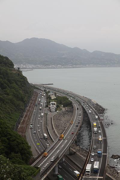 薩埵(さった)峠からの景色