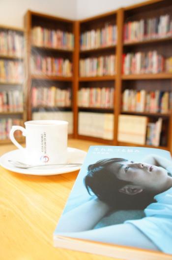 きだび図書館2014ブックカフェ風2