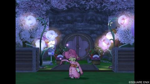 140101お花の外灯