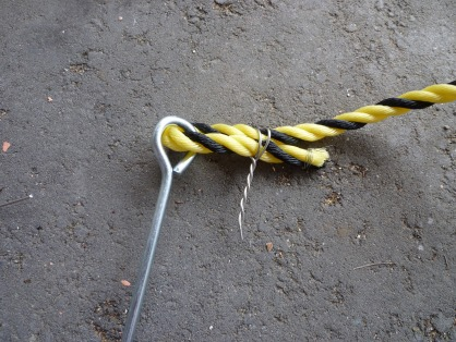 虎ロープ取り付け後