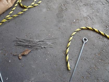 虎ロープ部材