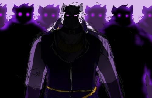 影の軍団ラフ