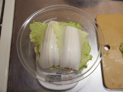 鶏むね肉と白菜の重ね蒸し28