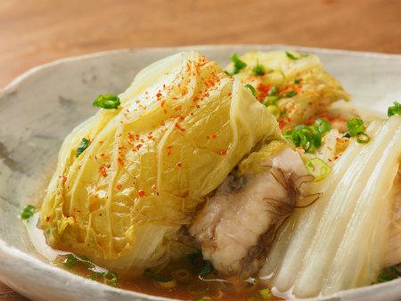 鶏むね肉と白菜の重ね蒸し09