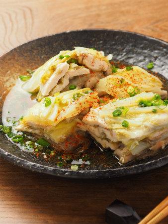 鶏むね肉と白菜の重ね蒸し18