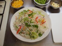 洋風ちらし寿司コンビニ食材54