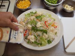 洋風ちらし寿司コンビニ食材55