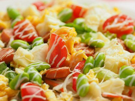 洋風ちらし寿司コンビニ食材21