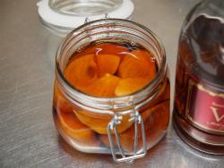 フルブラ柿サーモンマリネ07