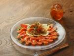 フルブラ柿サーモンマリネ16