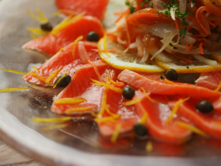 フルブラ柿サーモンマリネ26