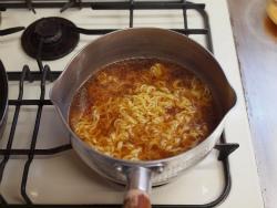 金の麺カルボナーラ、ほうれん20