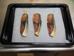 ぶりの味噌漬焼き22