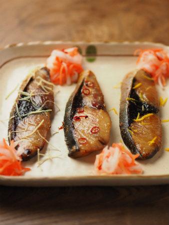 ぶりの味噌漬焼き45