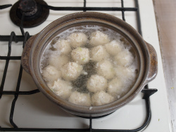 鶏団子鍋柚子こしょう36