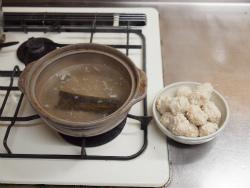 鶏団子鍋柚子こしょう39