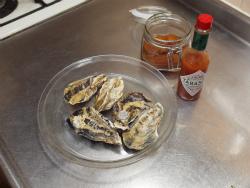 蒸し牡蠣フルブラ柿ソース26