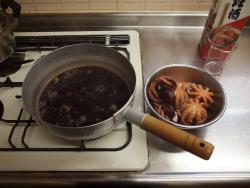 いいだこと里芋の煮物29