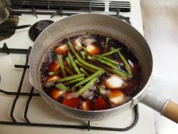 いいだこと里芋の煮物31