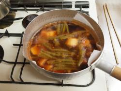 いいだこと里芋の煮物32