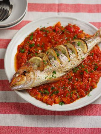 白身魚のオーブン焼きタイム46