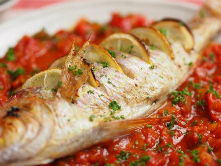 白身魚のオーブン焼きタイム57