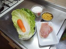 t白菜と鶏むね肉のクリーム01