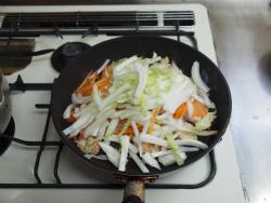 t白菜と鶏むね肉のクリーム14