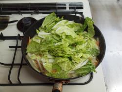 t白菜と鶏むね肉のクリーム16