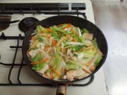 t白菜と鶏むね肉のクリーム17