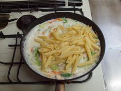 t白菜と鶏むね肉のクリーム20