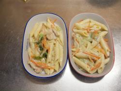 白菜と鶏むね肉のグラタン風09