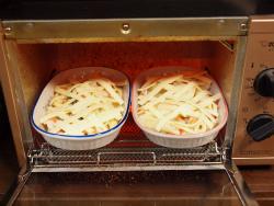 白菜と鶏むね肉のグラタン風12