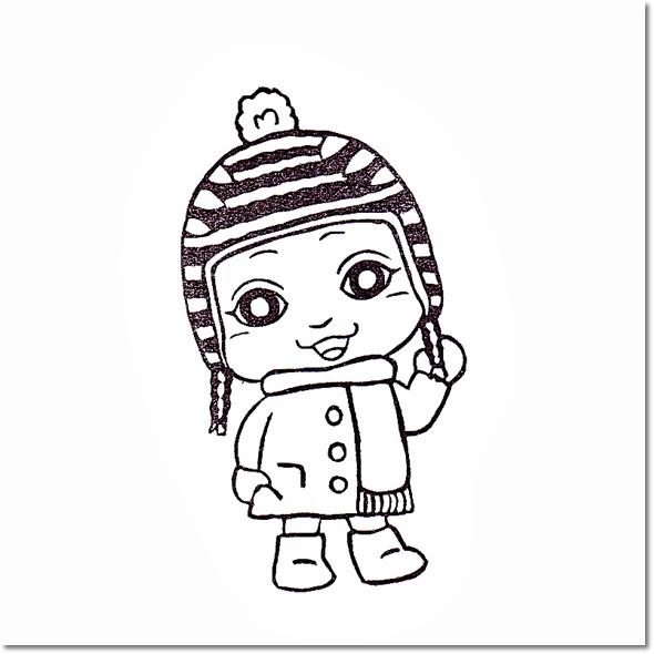 ベイビーサキ冬のおでかけファッションでキメポーズ☆の巻