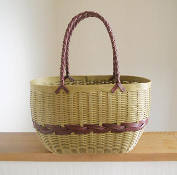 よろい編みバッグ001