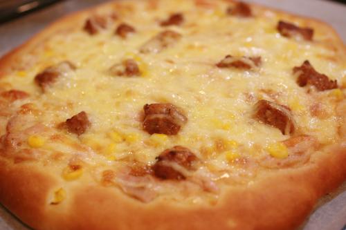 照り焼きハンバーグピザ