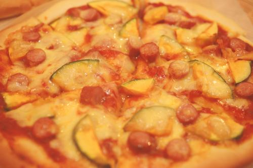 Pizzaトマト&かぼちゃ