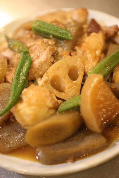 鶏の根菜とろ~り煮
