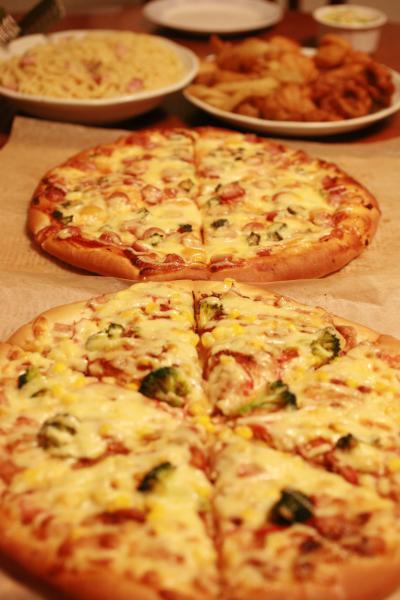 Pizzaパスタ-クリスマス4-