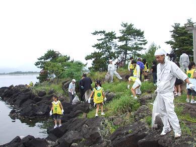 中海宍道湖一斉清掃 2