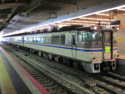 キハ181系おわら臨大阪駅1