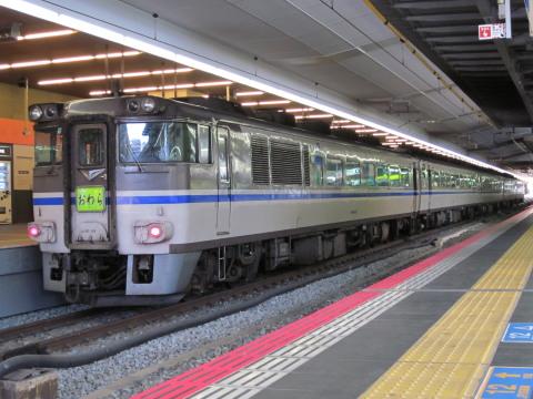 キハ181系おわら臨大阪駅2